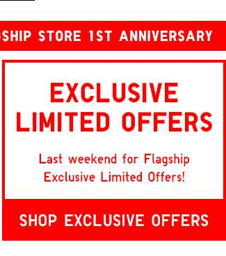 Orchard Central Flagship Store 1st Anniversary | Shop Limited Offers