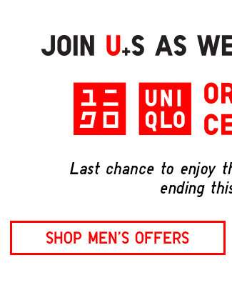 Last chance to shop Orchard Central 1st Anniversary Flagship Exclusive! Shop Men's now.