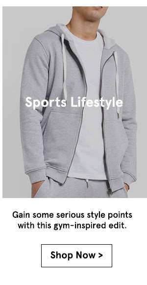 Sports lifestyle gain some serious style points with this gym inspired edit