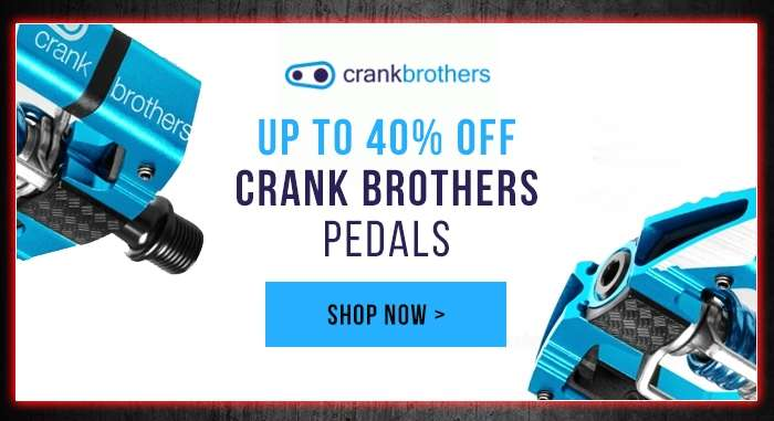 Up to 40% off Crank Brothers Pedals