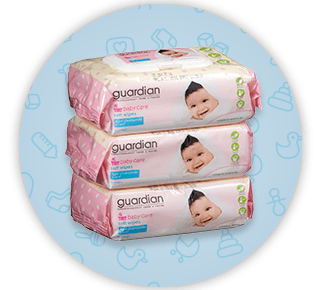 Guardian Baby Care Soft Wipes - OFFER: 8 For $44.00