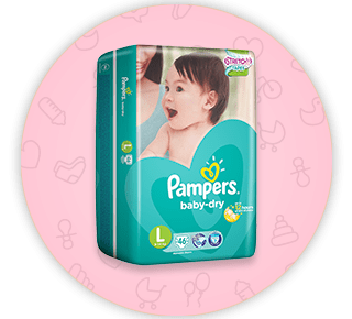 Pampers Baby Dry Diapers - OFFER: 4 FOR $56.00