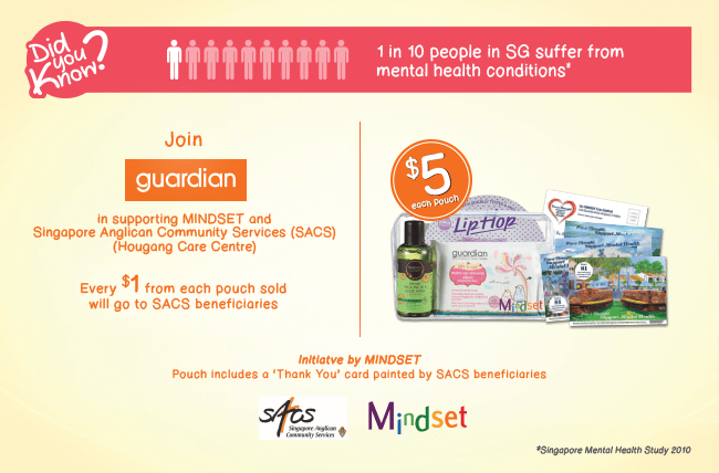 Join Guardian in supporting MINDSET!