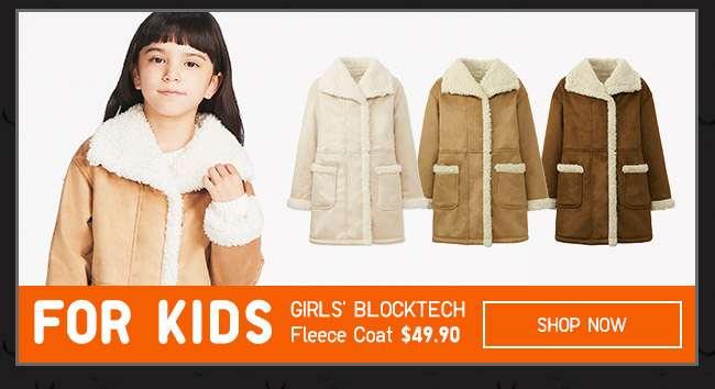 Shop Girl's Fleece Coat