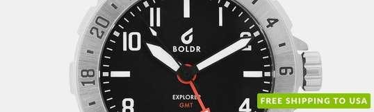 BOLDR Explorer GMT Quartz Watch