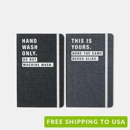 Moleskine Limited-Edition Denim Notebook (2-Pack)