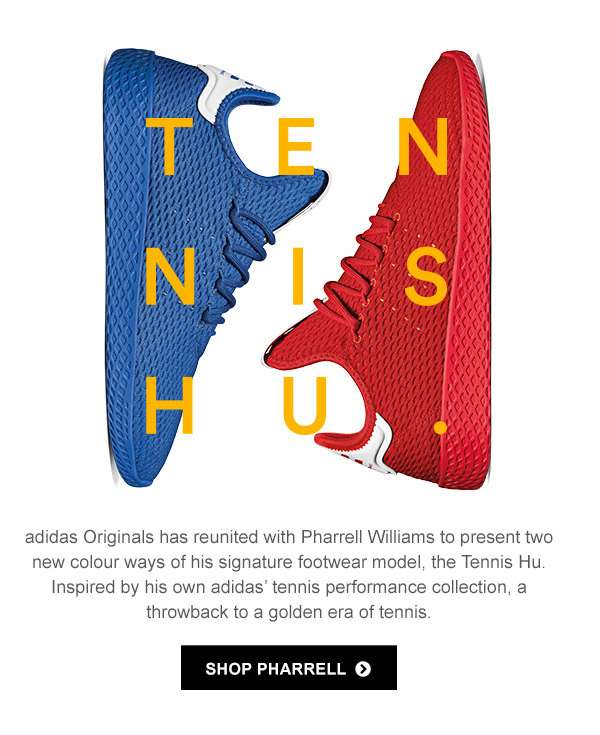 Pharrell Williams Tennis Hu
