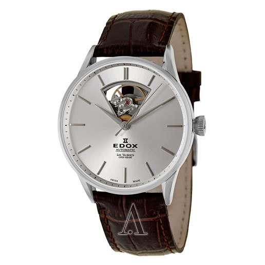 Men's  Edox Les Vauberts Automatic Watch