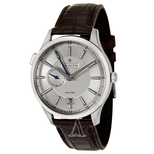 Men's  Zenith Captain Dual Time Watch