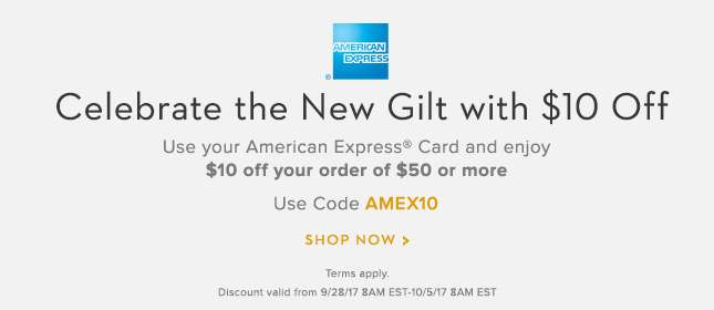 American Express and New Gilt Offer