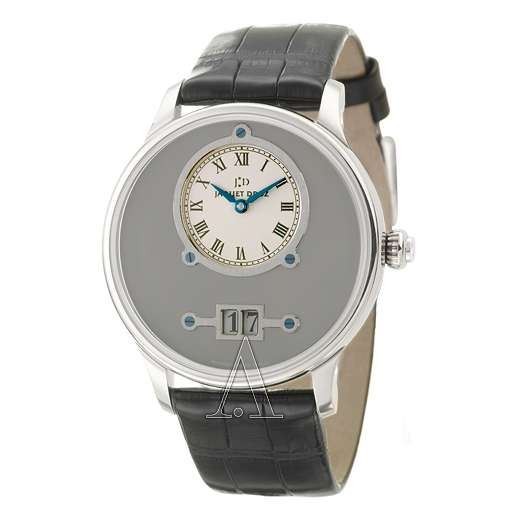 Men's Jaquet Droz Petite Heure Minute Grande Date Watch