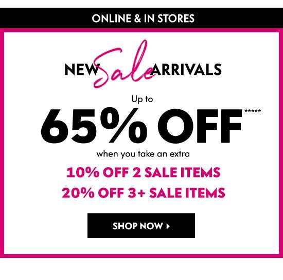 New Sale Arrivals