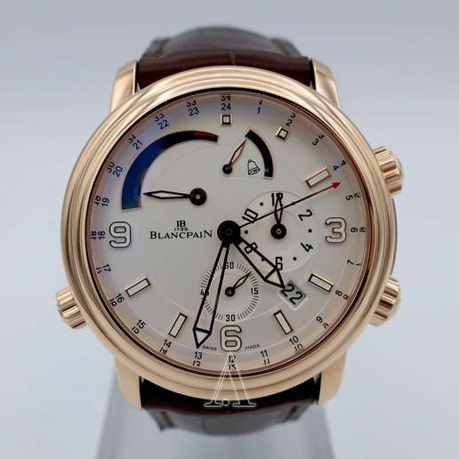 Men's  Blancpain Leman GMT Alarm Watch