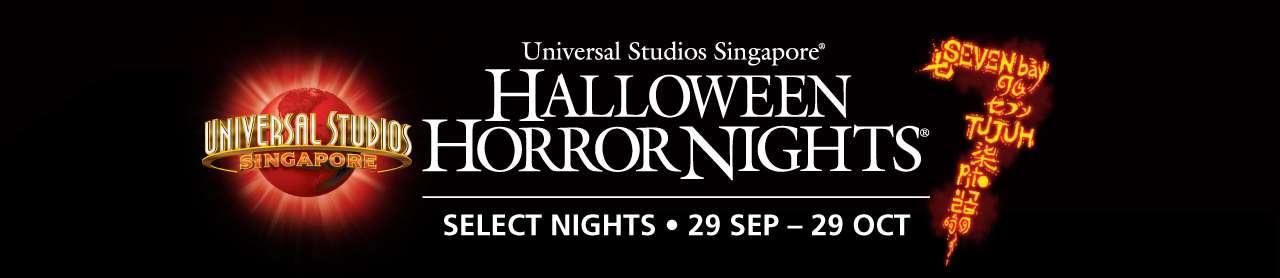 Universal Studios Singapore HALLOWEEN HORROR NIGHTS 7 | SELECT NIGHTS • 29 SEP - 29 OCT