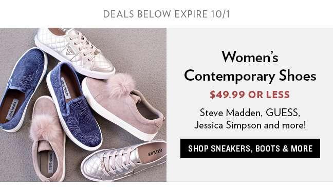 Women's Contemporary Footwear