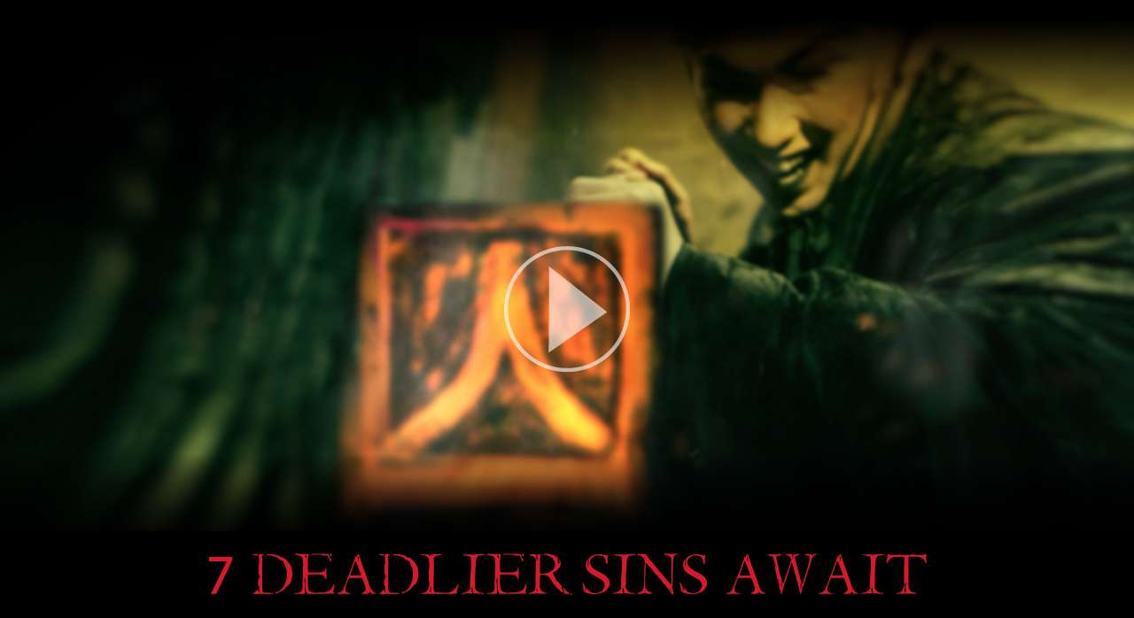 7 DEADLIER SINS AWAIT | 5 Haunted Houses | 2 Scare Zones | 2 Killer Shows | All-New Zombie Laser Tag Experience* | Thrilling Rides