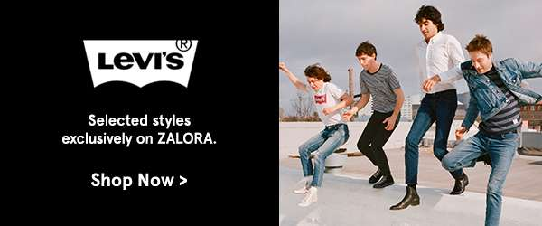 Levis selected styles exclusively on Zalora. Shop Now.