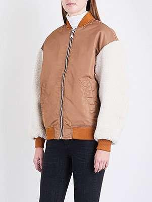 Boston bomber jacket