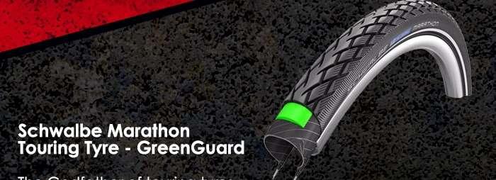 Schwalbe Marathon Touring Tyre - GreenGuard