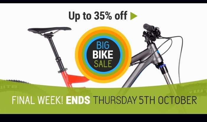 Big Bike Sale! Final Week!