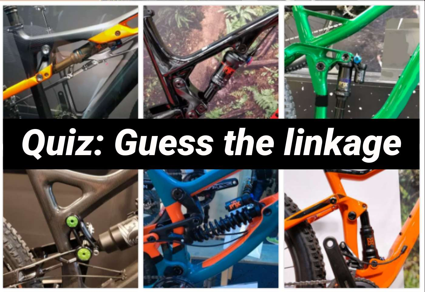 QUIZ: Guess the linkage