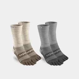 Injinji Outdoor Original Weight Crew (2-Pack)