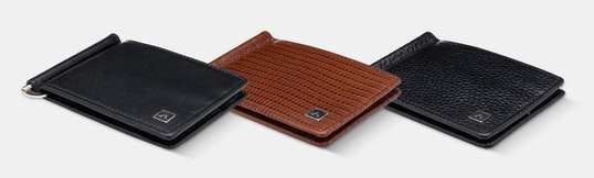 A&H Leather Goods Full-Grain  Money Clips / Wallets