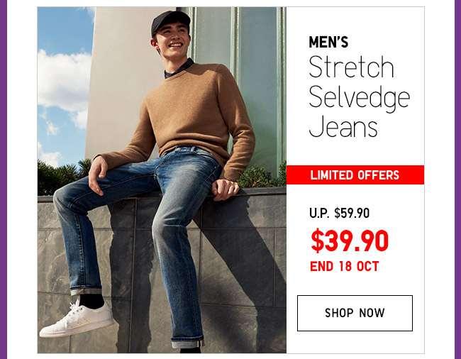 Shop Men's Selvedge Slim Fit Jeans