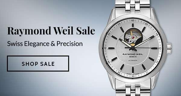 RAYMOND WEIL SALE — Swiss Elegance & Precision