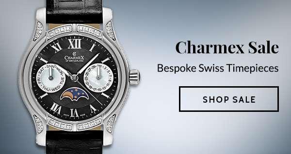 CHARMEX SALE — Bespoke Swiss Timepieces