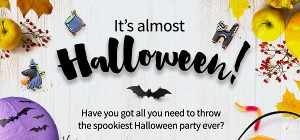 Got all you need to throw the spookiest halloween party ever?