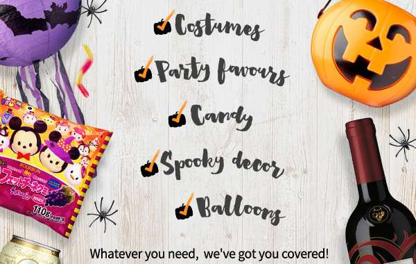 Costumes, party favours, candy, decor, we've got everything!