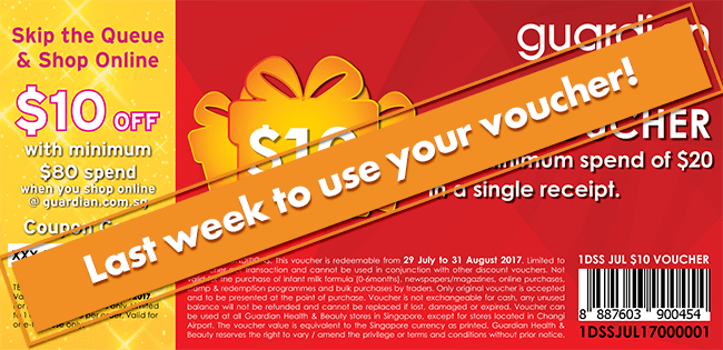 Last week to use your voucher!