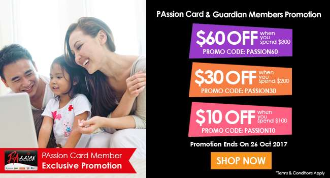 Passion Card Member Exclusive Promotion