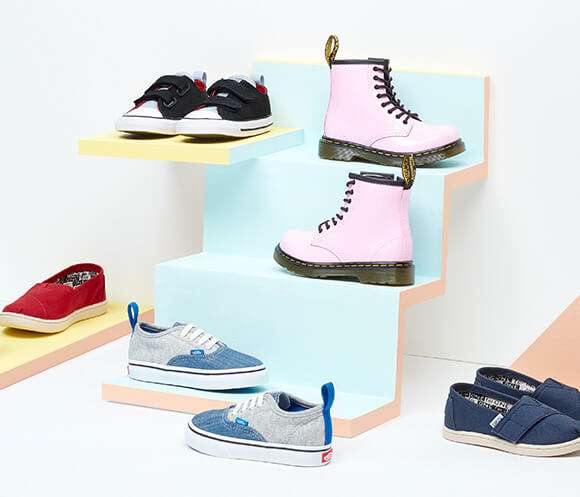 15% off Kids Footwear