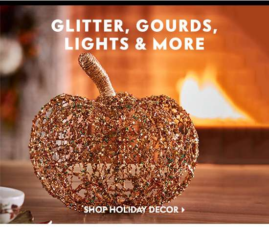 Shop Holiday Décor