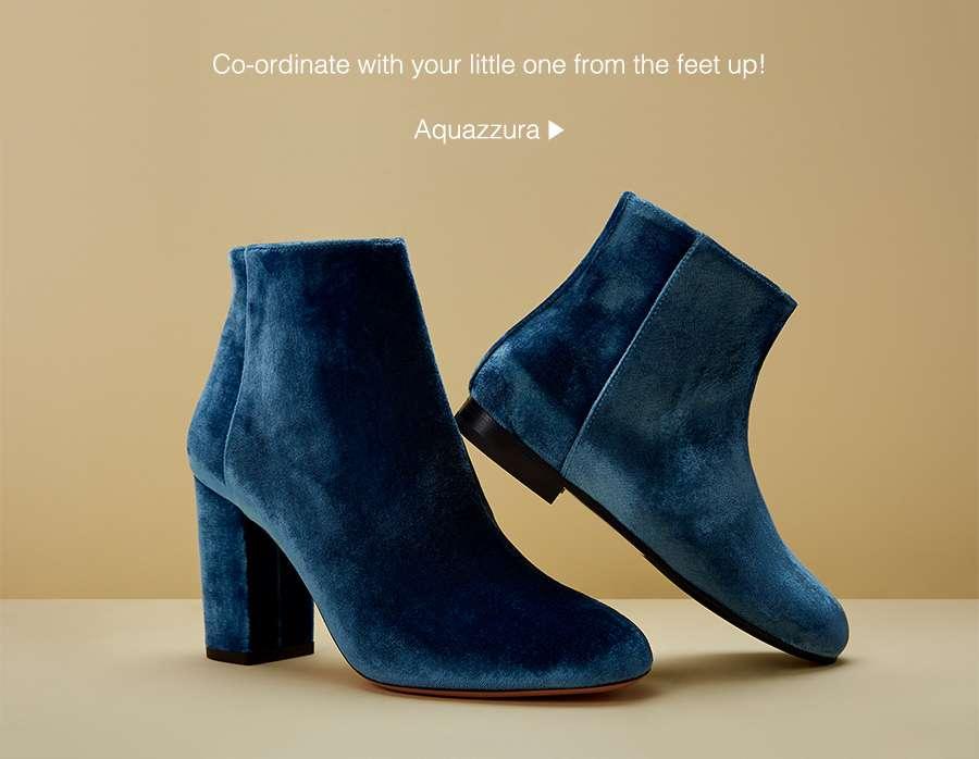 Footwear from Aquazzura & Sophia Webster