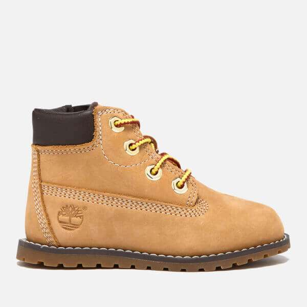 Timberland Toddlers' Pokey Pine Size Zip Lace Up Boots