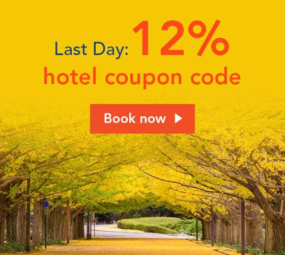 Last Day: 12% hotel coupon code!