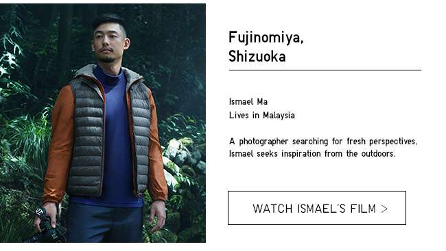 Wherever You Go. Watch Ismael's film about his LifeWear Story.