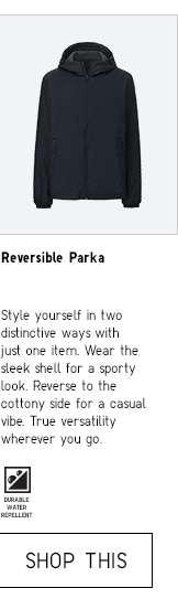 Shop Men's Reversible Parka