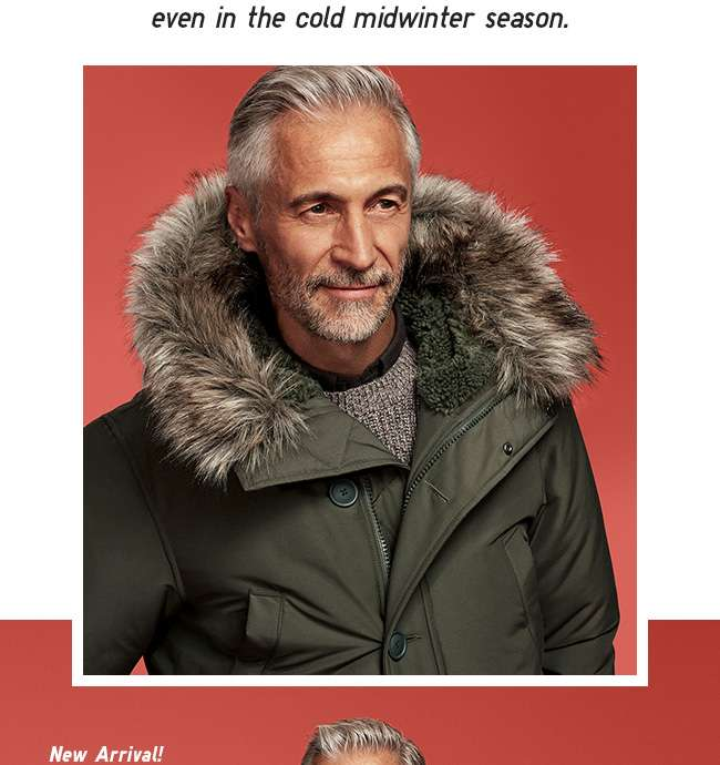 Men's Ultra Warm Down Coat