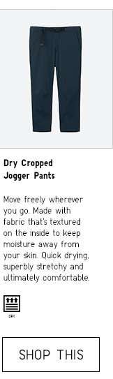 Shop Men's Dry Cropped Jogger Pants