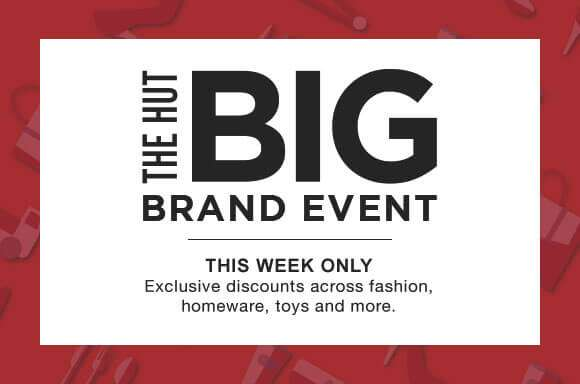 The Hut Big Brand Event