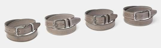 Orion Buffalo Leather Belt