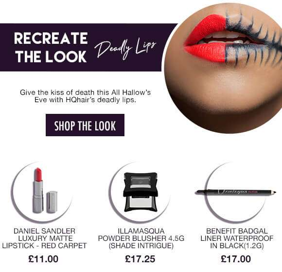 RECREATE THE LOOK DEADLY LIPS