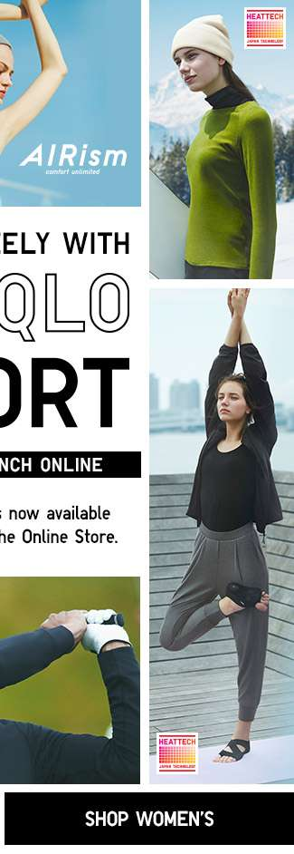 Shop Women's UNIQLO Sport Collection. Now with Online Exclusive items.