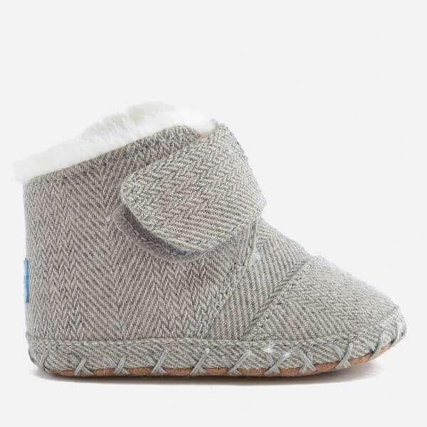 TOMS Babies' Cuna Layette Herringbone Boots