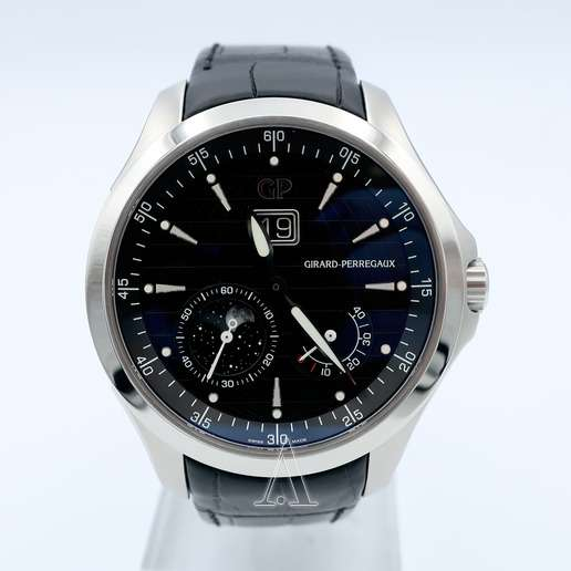 Men's  Girard-Perregaux Traveller Large Date Moonphases Watch