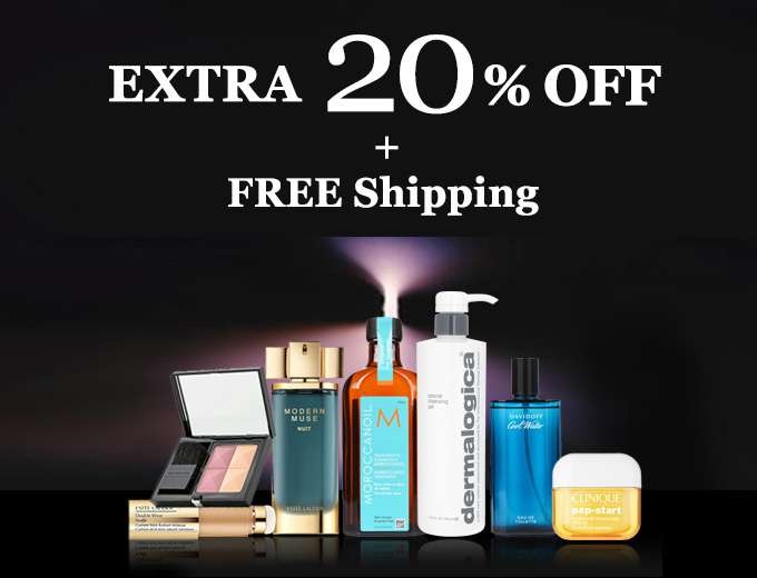Get Extra 20% Off + Free Shipping! You've scored our top-secret deal! Offer ends 29 Oct 2017.